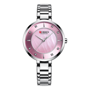 Curren Ladies Steel / Pink