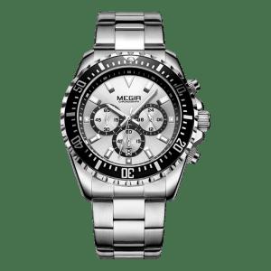 Megir Aviator Steel/White