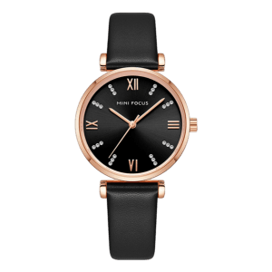 Megir Mini Focus Leather Black/Rose