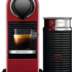 Nespresso CitiZ&Milk kapselkaffemaskine XN761510WP (rød)