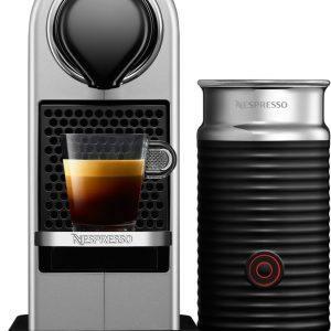 Nespresso CitiZ&Milk kapselkaffemaskine XN761B10WP (sølv)