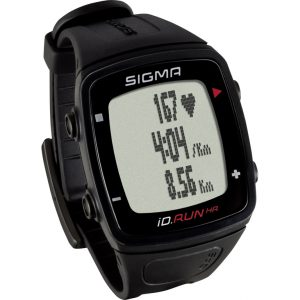 Sigma iD.RUN HR - Pulssur / Aktivitets tracker - Sort