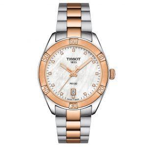 Tissot Dameur PR100 Sport Chic Dame Diamant T1019102211600