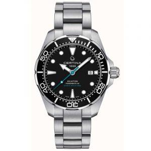 DS Action Diver Herreur Fra Certina C0324071105110