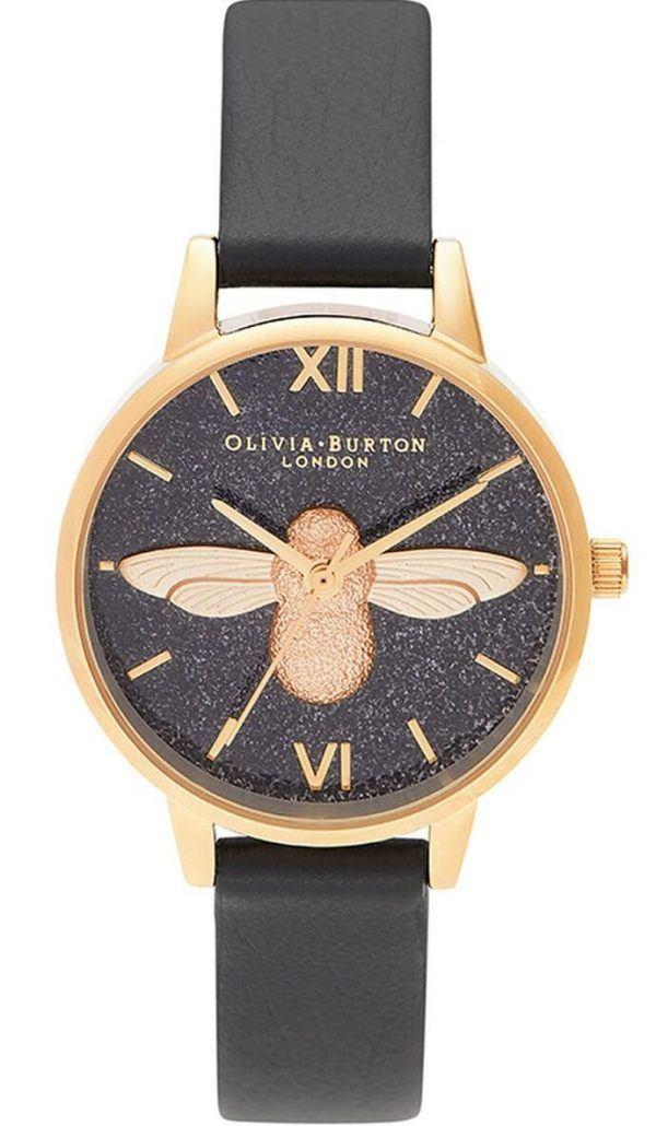Olivia Burton Glitter Dial 3D Dameur OB16GD48
