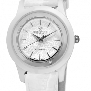 Christina Watches Ur Diamond Ceramic 306SWW