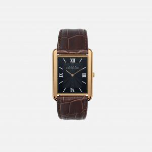 Dean Brochard CLASSIQUE GOLD 31MM WITH TENTANT STRAP