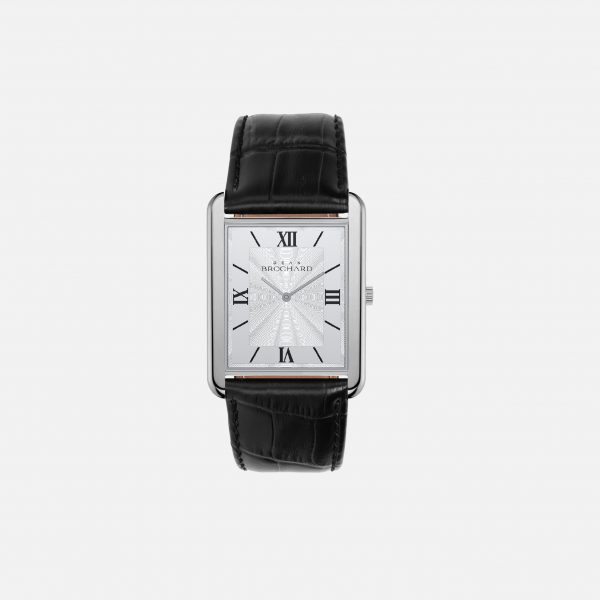 Dean Brochard CLASSIQUE SILVER 31MM WITH MYSTERIEUX STRAP