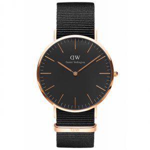 Daniel Wellington Classic Black Cornwall 40 MM Ur ADW00100148