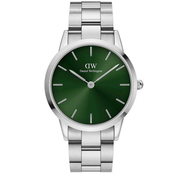 Daniel Wellington Ur til Dame & Herre 40 MM Iconic Link Emerald ADW00100427