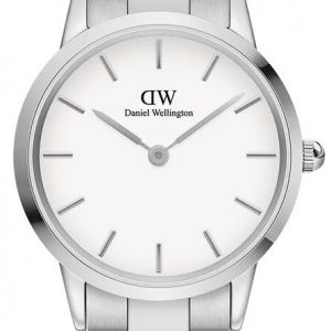 Iconic Link 32MM Silver White Ur til Dame Fra Daniel Wellington ADW00100205