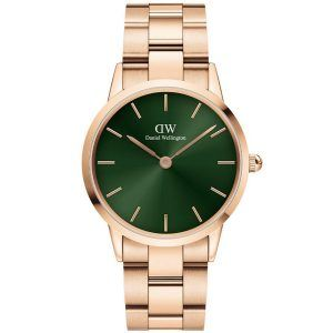 28 MM Iconic Emerald Rose Ur til Dame Fra Daniel Wellington ADW00100421