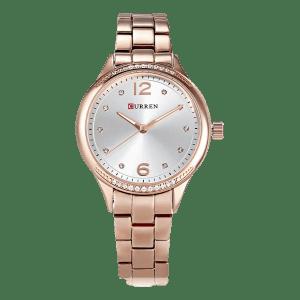 Curren Ladies Rose Gold / Silver