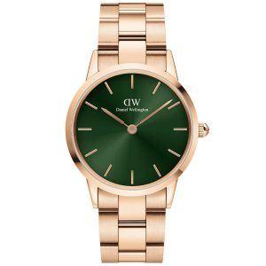Daniel Wellington 32 MM Iconic Emerald Rosa Ur til Dame ADW00100420
