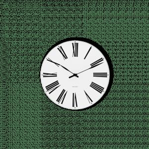 Arne Jacobsen Væg ur - ROMAN - 16 cm