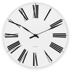 Arne Jacobsen Væg ur - ROMAN - 48 cm
