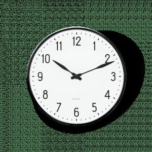 Arne Jacobsen Væg ur - STATION - 21 cm