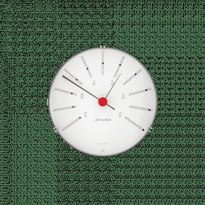 Arne Jacobsen Vejrstation Barometer - BANKERS - 12 cm