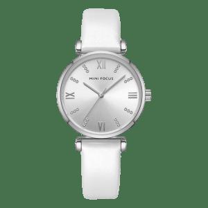 Megir Mini Focus Leather White/Silver